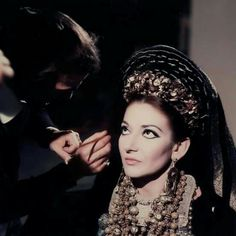 Maria Callas as Medea. Pasolini's film. 1969.