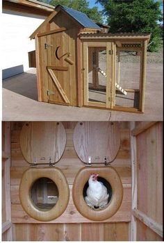 What a great chicken coop!  #Architecture, #Chicken #chickencoopplanseasy