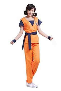 Introducing WOTOGOLD Anime Dragon The Ball Cosplay Costume Son Goku Turtle Logo Unisex Training Costume Size XL. Get Your Ladies Products Here and follow us for more updates!