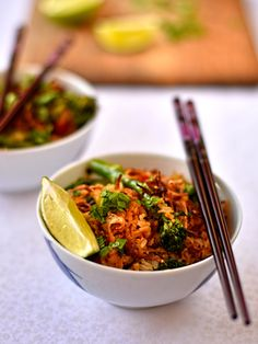 vegan Indonesian-style fried rice