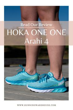 """Our experts tested the new HOKA ONE ONE Arahi 4. Read their thoughts at Running Warehouse!  - """"A lightweight, cushioned ride that works for overpronators and neutral runners alike."""" - #stability #pronation #best #top #training #workout #health #fitness #footwear #shoes #jog #walk #nike #newbalance #hoka #altra #brooks #adidas #marathon #athletic #exercise #style #fashion #outfit #clothes #gym #sneakers Running Shoe Reviews, Hard Workout, Footwear Shoes, Everyday Shoes, Wide Feet, How To Run Longer, Marathon, The One, Stability"""