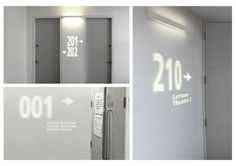 Interactive Signage by Christin Michel, via Behance