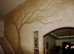 wall treatments for stairwells   Murals   The Mural Works
