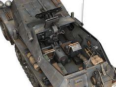 SD KFZ 250 Halftrack Tank Hunter