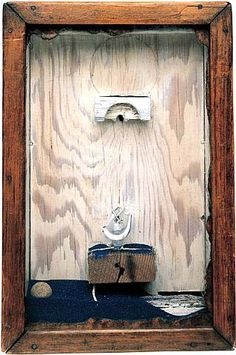 artnet Galleries: Sand Fountain by Joseph Cornell from Allan Stone Gallery Found Object Art, Found Art, Joseph Cornell Boxes, Stone Gallery, Box Art, Art Boxes, Assemblage Art, Vintage Artwork, American Artists