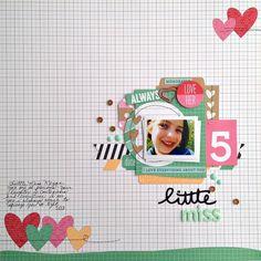 Kristine Davidson: Little Miss | Layout