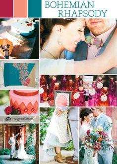 Whimsical & Woodland: Bohemian Chic Wedding Ideas