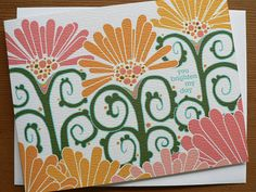 You Brighten My Day Card by Katie Dean at littlegreencards on Etsy, $3.50