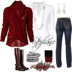 """Christmas Wear #2"" by stephanie376 on Polyvore"