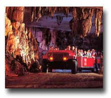 "Fantastic Caverns in Springfield, the only drive-thru cave experience. A great experience for all ages. Magical. And, if you're really lucky, you'll get a ""cave kiss."""
