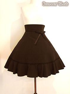 Innocent World / Skirt / Double Ribbon Skirt