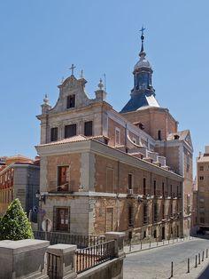 Madrid Iglesia del Sacramento - Iglesia Arzobispal Castrense