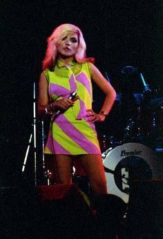 "debbie harry; that ""look"" by jeremy north, via Flickr"