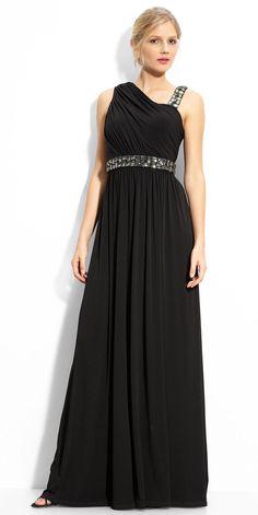 Long Burgundy Halter Chiffon Evening Dress