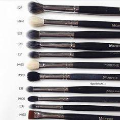 Morphe Eye Brushes