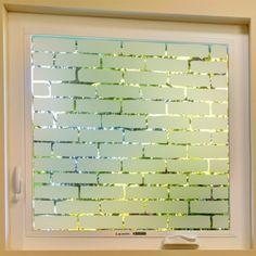 Sichschutzfolie film de fenêtre en couleur pour salon fleurs fleurs de bandes