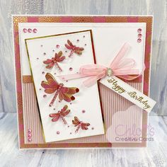 Chloes Creative Cards Craft, Cardmaking and Papercraft Supplies Birthday Cards For Women, Happy Birthday Cards, Chloes Creative Cards, Stamps By Chloe, Create And Craft Tv, Birthday Sentiments, Cardmaking And Papercraft, Embossed Cards, Kids Cards