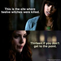 Katherine is one of my favorite characters.