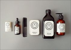 Utilitarian Voyageur Kit: Pre-Wrapped Men's Grooming Gift Set / Grooming Kit From Aziz Light Apothecary