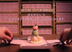 How To Make Courtesan au Chocolat From Wes Anderson's The Grand Budapest Hotel - #wesanderson #TheGrandBudapestHotel