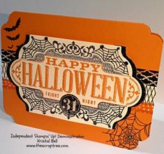 Stampin' Up! 2015 Holiday Catalog Sneak Peek # 2 - Witches Night and Happy Scenes