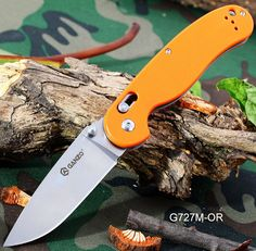 Just US$14.16, buy Ganzo G727M - OR Foldable Knife with Axis Lock and Clip online shopping at GearBest.com Mobile.