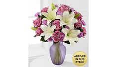 Simply Sweet Lavender Twilight Mixed Flower Bouquet $34.99 (ftd.com)