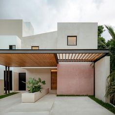 Interior Design Images, Interior Design Boards, Ibiza, Contemporary Beach House, Mediterranean Homes, Ground Floor Plan, Modern House Plans, Interior And Exterior, Facade