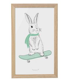 Another great find on #zulily! Rabbit Framed Print by Bloomingville #zulilyfinds