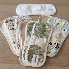 Sewing Tutorials, Sewing Crafts, Sewing Projects, Sewing Patterns, Reuseable Pads, Sanitary Napkin, Menstrual Pads, Cloth Pads, Starter Set