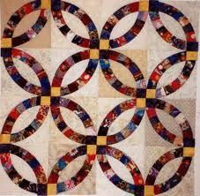 wedding ring patchwork quilt - Buscar con Google