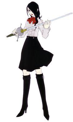 Mitsuru Kirijo Concept - Characters & Art - Shin Megami Tensei: Persona 3