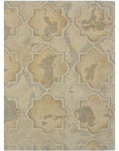 BB204 Arabesque Pattern 8c-Sonora Sunset/Hacienda-Limestone