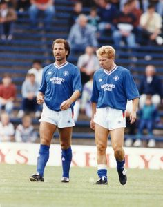 The two men who changed the face of Scottish football - Graeme Sourness & Mo Johnston