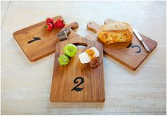 Tasting Boards / Europe2you {fun tasting boards...i would want more than 3...}