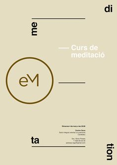 Posters Executive Meditation by Xavier Esclusa on Behance