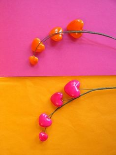 There's something about orange & fuchsia together