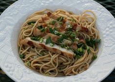 Food and Garden Dailies: Grilled Chicken with Sesame Noodles (Cook's Illustrated)
