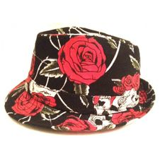Punk Goth Trilby for Kids