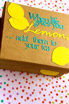 """My feel better gift box is an easy, thoughtful way to send someone """"get well wishes,"""" and it's a sure way to lift his or her spirits…plus, everything is cuter in a box."""