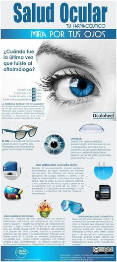 Tus ojos son súper importantes, así que asegúrate de mantenerlos sanos con los tips de esta infografía. | 23 Infografías que te ayudarán a vivir una vida más sana