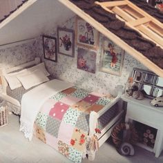 Miniature room♡ ♡ By cosydollhouse