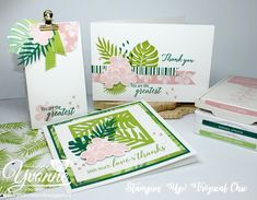 ......Yvonne is Stampin' & Scrapping.....: Stamp Impressions Europe - Tropical Flair