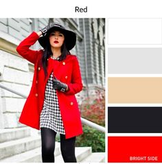 Color Combinations - Red