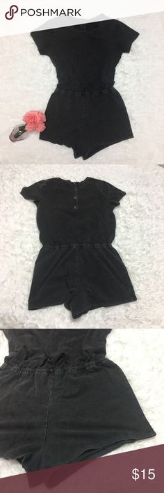 Forever 21 Burn Out Faded Black Romper - I Forever 21 burn out faded black romper good used condition button back womens size small approximate measurements inches pit to pit and inches pit to hem if you have any questions please feel free to ask offers always welcome and bundle discounts available from my closet. Thank you for stopping by! Forever 21 Pants Jumpsuits & Rompers