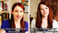 My name is Lizzie Bennet