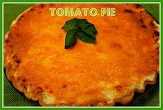 Sweet Tea and Cornbread: Tomato Pie!