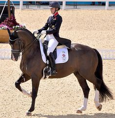 Horse Country Chic: The Dynamic Duo That Did Dominate Dressage at Rio Charlotte Dujardin Valegro Blueberry