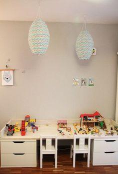 DIYnstag: 14 neue Kreativ-Ideen | Foto von Mitglied mroom #SoLebIch #DIY #table #tisch #basteltisch #workplace #kidstable #kindertisch