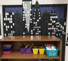 New York Skyline Ideas For Classroom Display Classroom